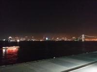 竹芝桟橋からの夜景