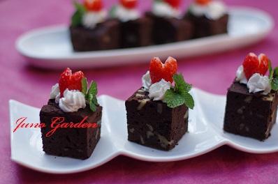 チョコレートケーキ150214