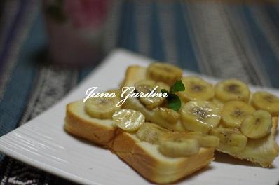 バナナのシナモントースト