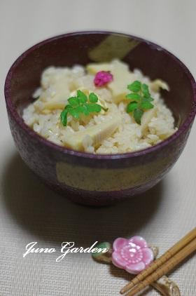 タケノコご飯150408