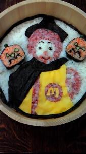 寿司アート ドナルドとジャガランタン