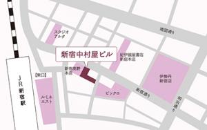 中村屋ビル地図