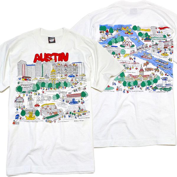 USEDバックプリントTシャツ画像@古着屋カチカチ (3)