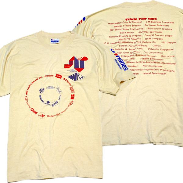 USEDバックプリントTシャツ画像@古着屋カチカチ (2)