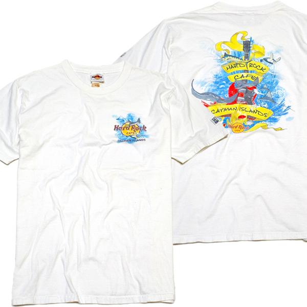 USEDバックプリントTシャツ画像@古着屋カチカチ