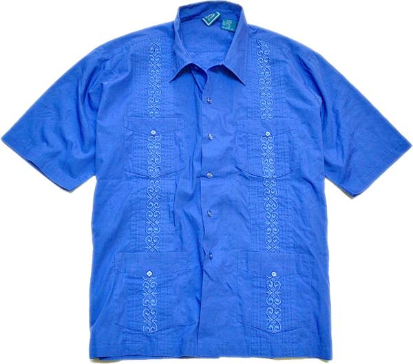 USED半袖キューバシャツ画像@古着屋カチカチ01