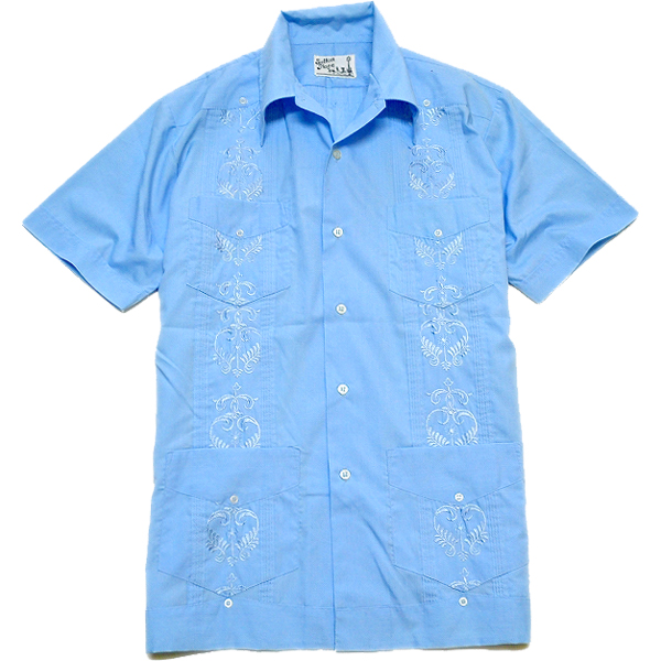 USED半袖キューバシャツ画像@古着屋カチカチ04