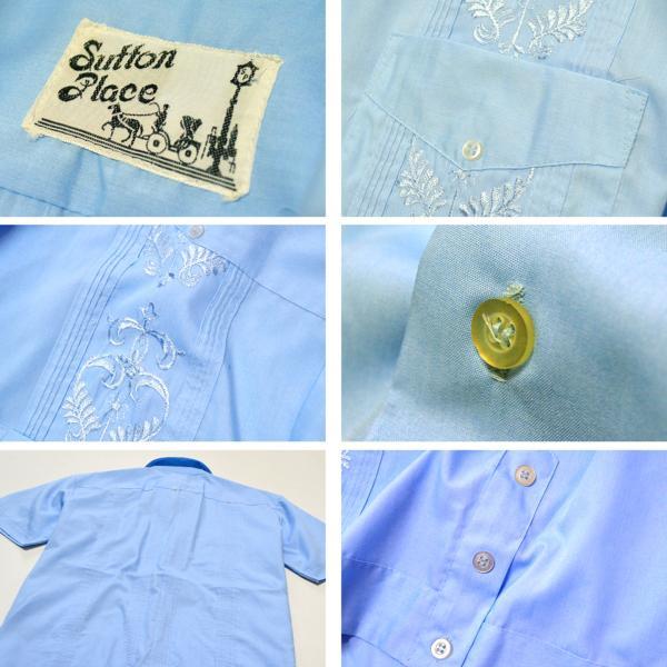 USED半袖キューバシャツ画像@古着屋カチカチ05