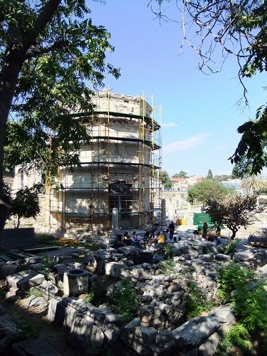アテネ_修復中の風の塔