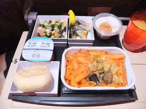 エティハドの機内食 (2)