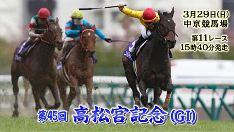 【競馬】今週、初めて高松宮記念に行くのですが・・・