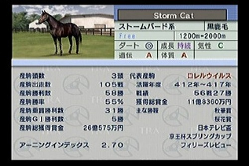 【競馬】ストームキャットって猫なのに馬なの?