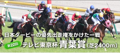 【競馬】第22回 テレビ東京杯青葉賞(GII)