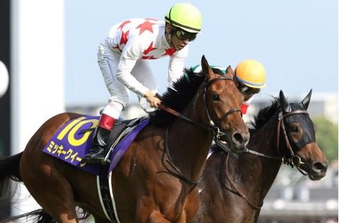 【競馬】忘れな草賞の勝ち馬がオークス馬とか・・・