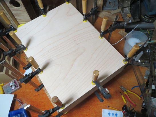 200円ユニットバックロードバスレフ試作箱改 製作中 3