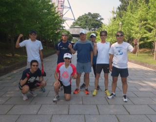 臨海公園5月31日練習会