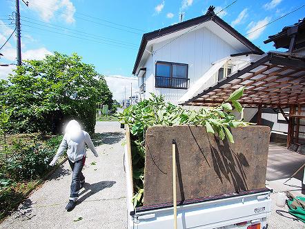 造園屋さんの敷地内整理2015 007