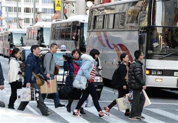 中国観光客来日