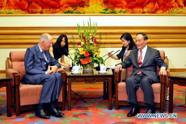 ロスチャと中国副首相
