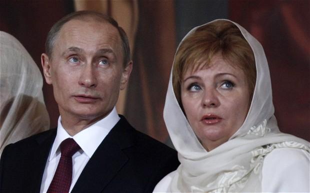 プーチン夫婦