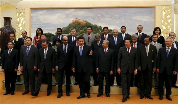 AIIB創立関係者