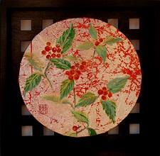 四方の春-千両-円形-blog