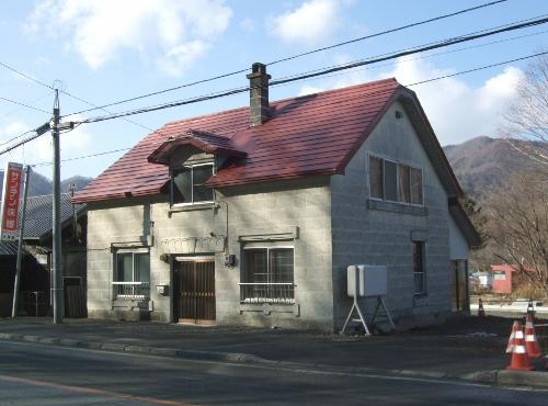 簾舞にあった住宅