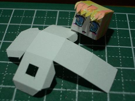 今日のシェリル様 立方体作成図