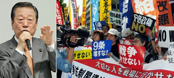 世論も「違憲」批判拡大…  安保法案ムード一変で、安倍官邸に焦り!剛腕の小沢一郎氏も動きだした!