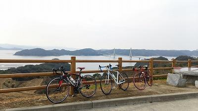 鷹島自転車x3