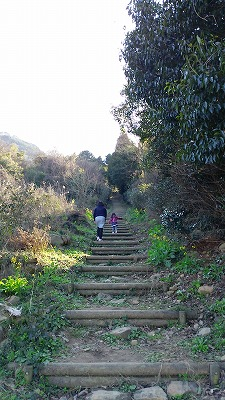 鏡山階段1