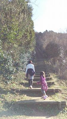 鏡山階段2