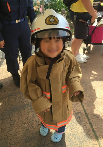 6ミニ消防士完成