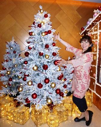 香港ホテル クリスマスツリー