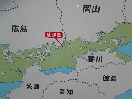 仙酔島 地図