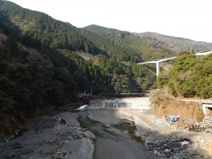 DSCN8821川辺川第二堰堤
