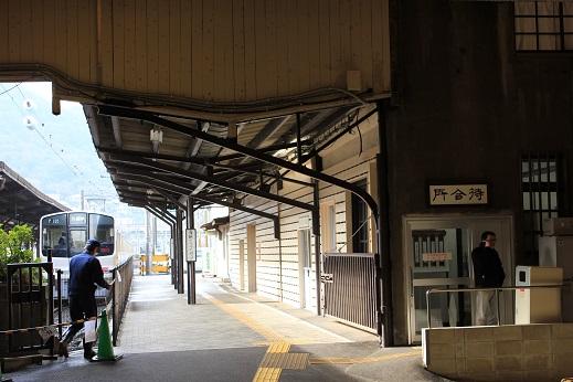 門司港駅内