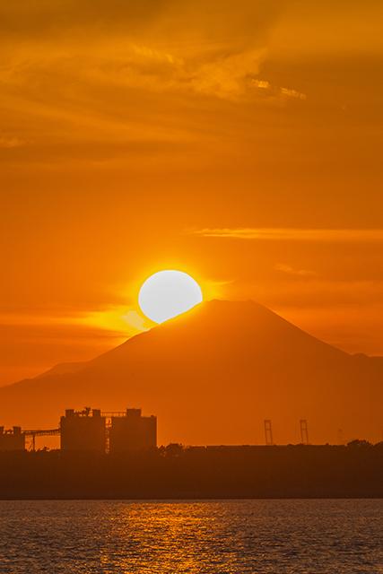 2015年2月16日ダイアモンド富士