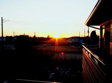 画像ー277 つくしと落日 008-2