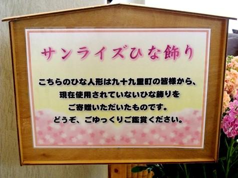 画像ー282 サンライズ九十九里の雛人形としらこ桜 023-2