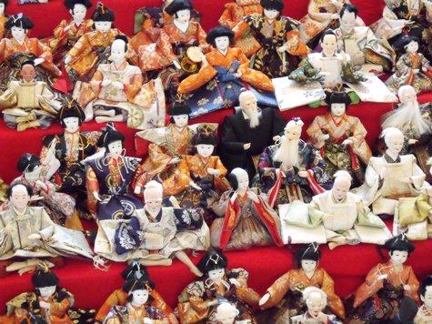 画像ー282 サンライズ九十九里の雛人形としらこ桜 025-2