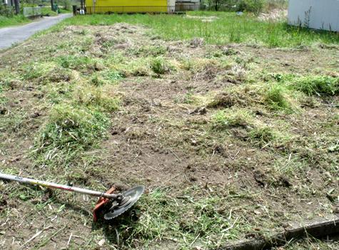 画像ー299 納豆と草刈り機 099-2