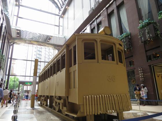 ダンボールの路面電車16