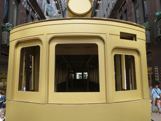 ダンボールの路面電車18