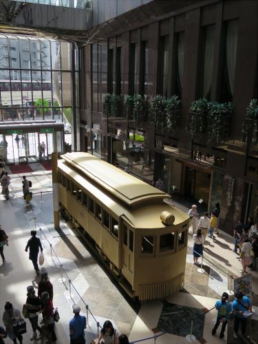 ダンボールの路面電車19