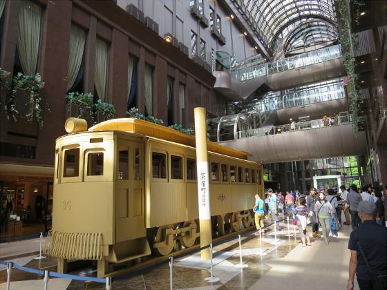 ダンボールの路面電車20