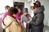 神戸・週末ボランティア新生の復興住宅訪問の流れを説明