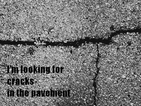 cracks in the pavement1