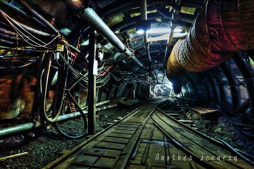 池島炭鉱内2
