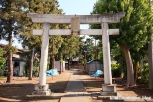 袋山久伊豆神社(越谷市袋山)2